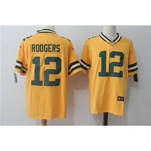 Women Green Bay Packers Aaron Rodgers Jersey (3)